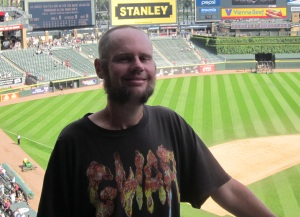 Me at New Comiskey