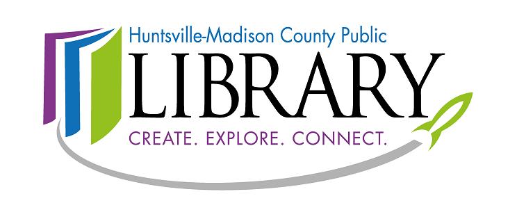 huntsville libary logo